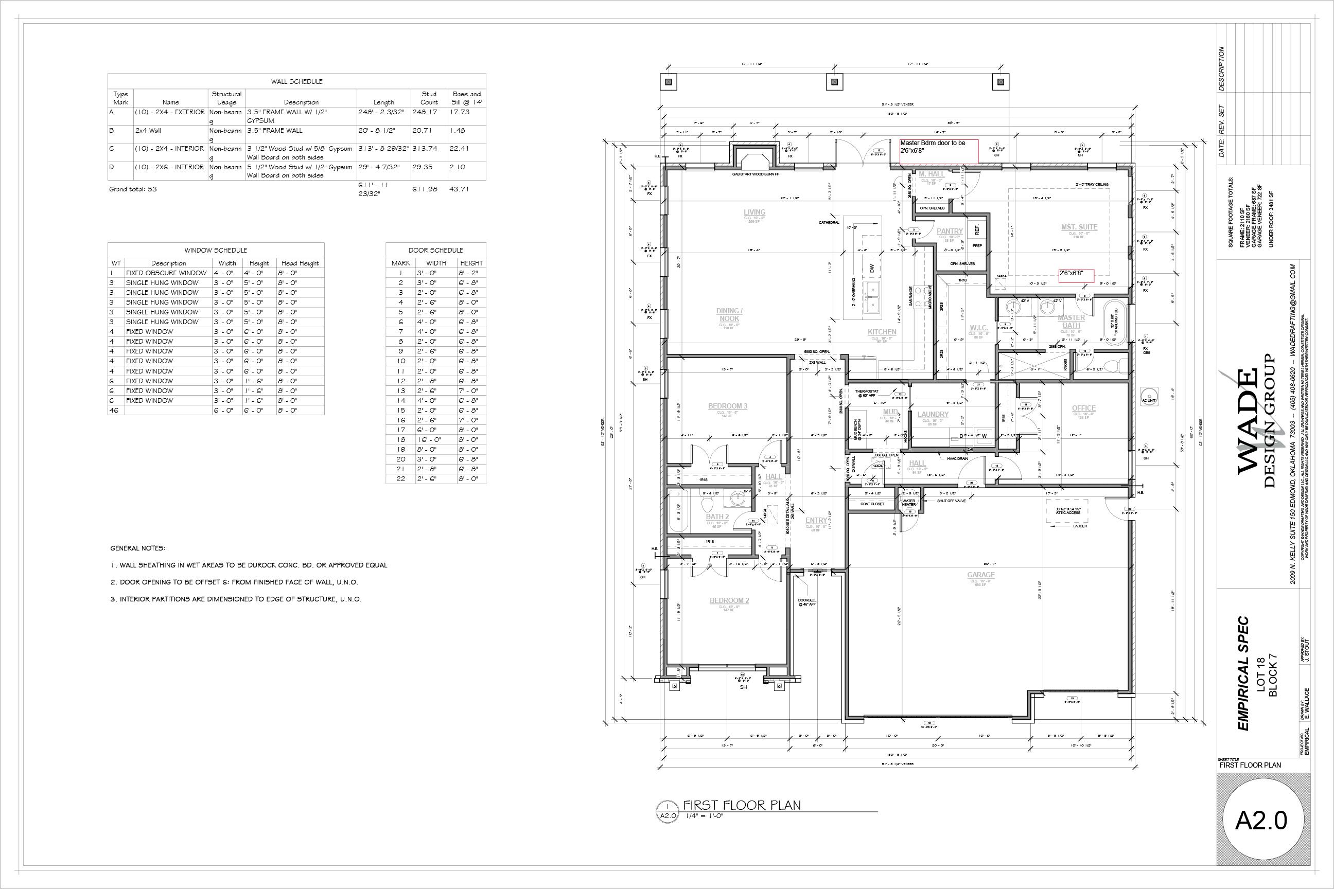 2110 Tuscan Floorplan